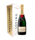 moet & chandon brut imperial estuche festive - champagne - moet & chandon