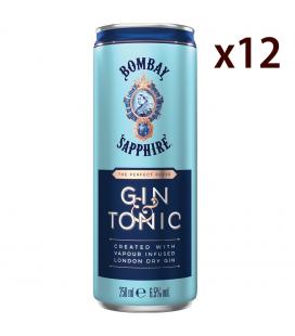 Bombay Sapphire Gin & Tonic Box 12