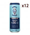 Gin Tonic Sapphire & Tonic Box 12