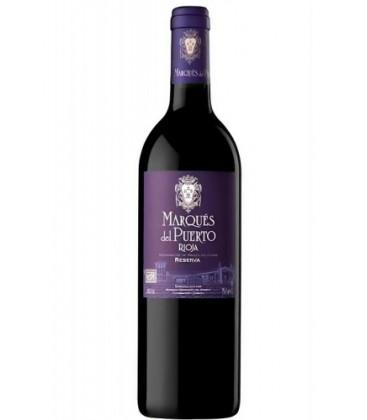 marques del puerto reserva - comprar vino tinto rioja - comprar rioja