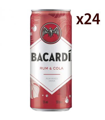 Bacardi Cola Caja 24