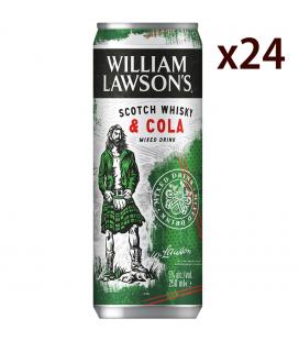 William Lawsons & Cola Caja 24