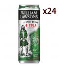 Wiliam Lawsons Cola Caja 24