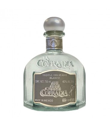 Tequila La Cofradia Blanco 70cl.