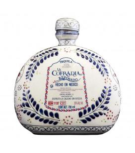 Tequila Cofradia Talavera Cerámica Reposado