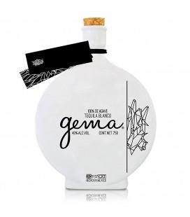 Tequila Cofradía Cerámica Gema Silver 70cl.