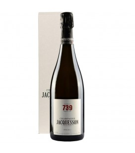 Champagne Jacquesson 739 Extra Brut + Case