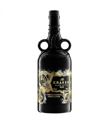 Ron Kraken Edition Limitada ceramica negra 70cl.