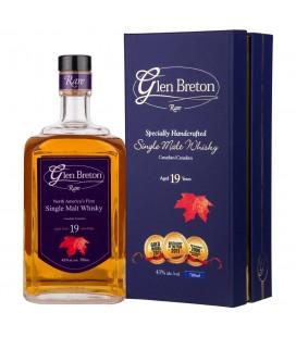 Glen Breton Whisky 19 Years + Case