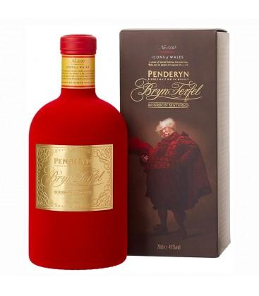 "Penderyn Single Malt Whisky ""Peated"" 70Cl. + Estuche"