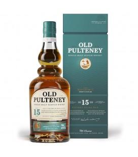 Old Pulteney 15 Single Malt Whisky 70cl.