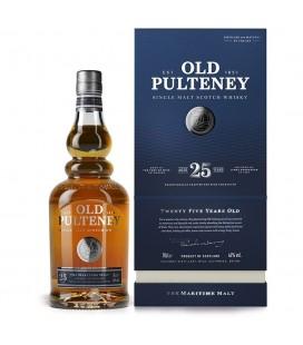 Old Pulteney 25 Single Malt Whisky 70cl.
