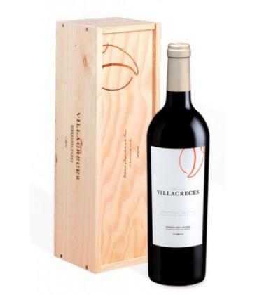estuche de madera finca villacreces - comprar ribera del duero - vino tinto