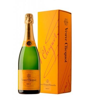 veuve clicquot brut estuchado - comprar veuve clicquot brut - champagne