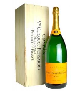 Veuve Clicquot Brut Mathusalem 6l Caja de Madera