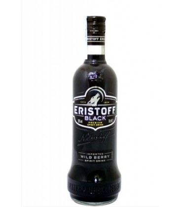vodka eristoff black