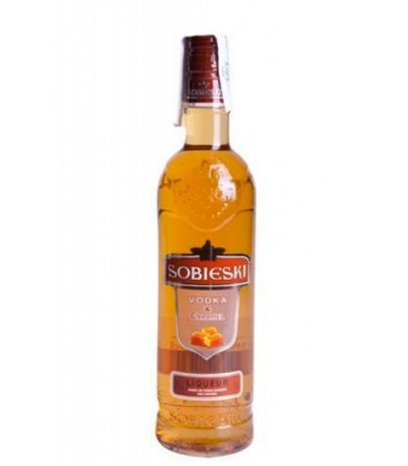 vodka caramelo sobieski