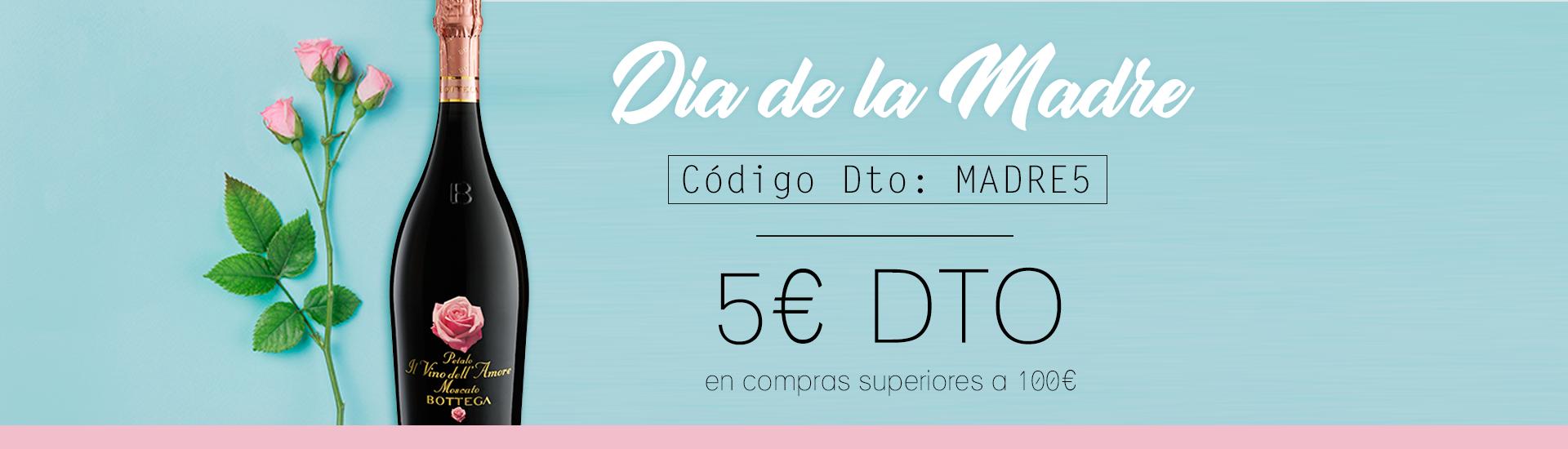 DÍA DE LA MADRE | 5€ DTO