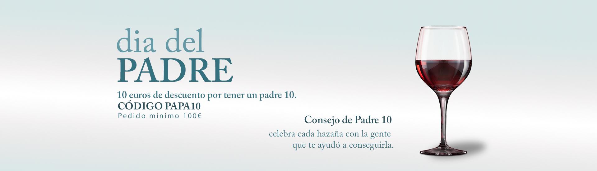 DÍA DEL PADRE | DESCUENTO DE 10€ PARA PADRES 10 | CÓDIGO CUPÓN PAPA10