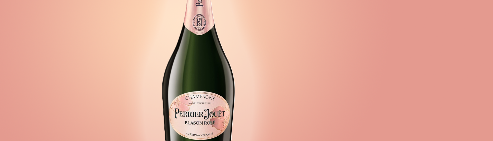 PERRIER JOUET BLASON ROSE - CHAMPAGNE PREMIUM - CHAMPAGNE