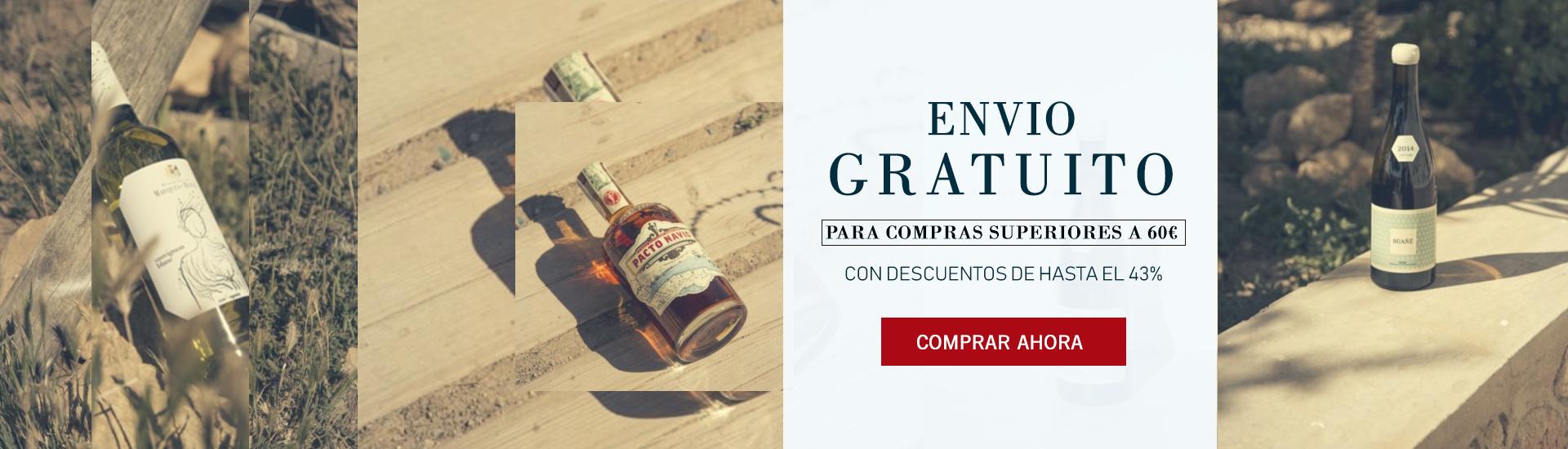 GASTOS DE ENVIO GRATUITOS