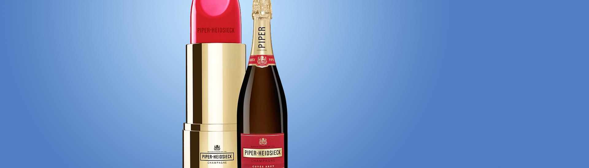 Piper-Heidsieck Brut Lipstick Edition - Champagne