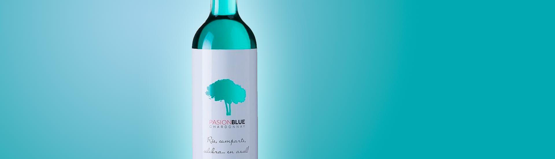 PASION BLUE  - VINO AZUL - VINO
