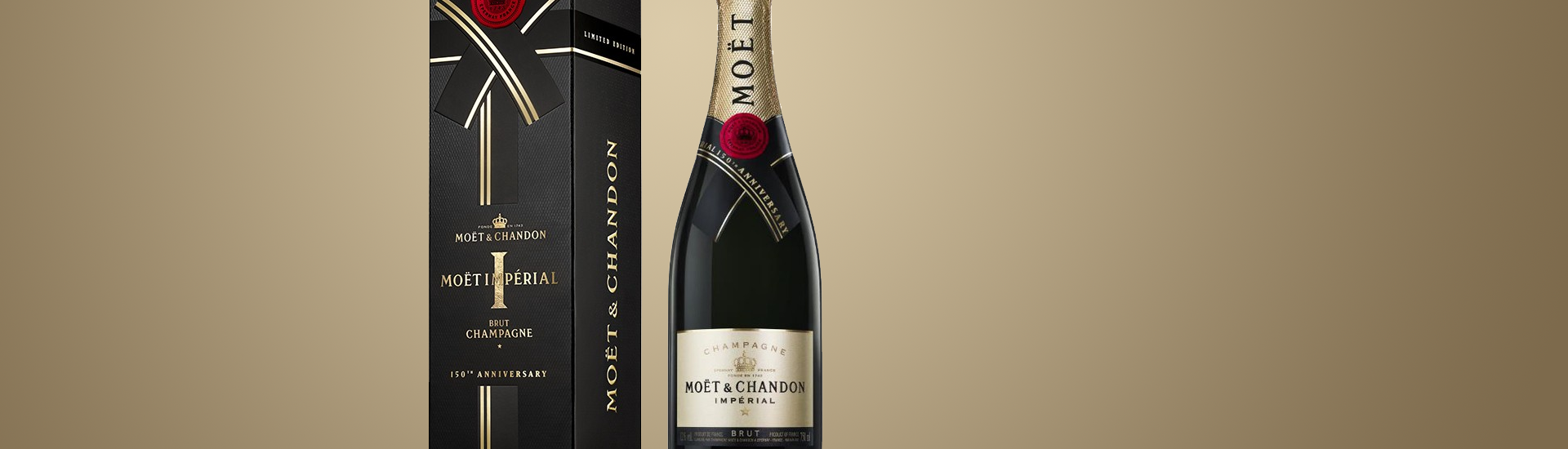 Moët & Chandon Brut Imperia  150 Anniversary Edition - Champagne