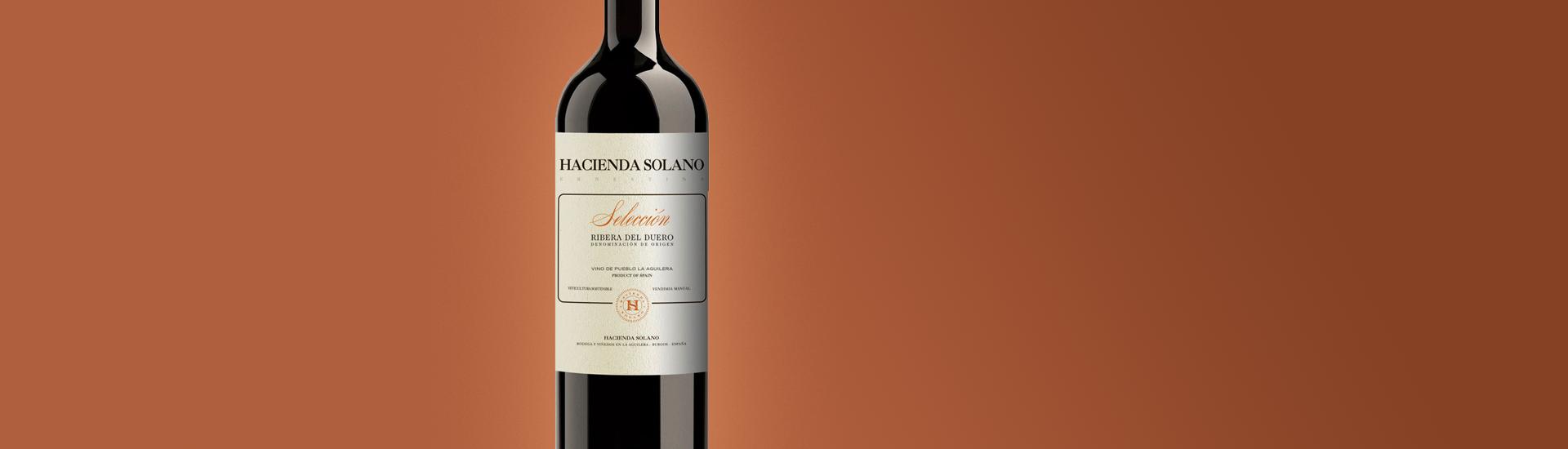 HACIENDA SOLANO SELECCION - RIBERA DEL DUERO - RED WINE